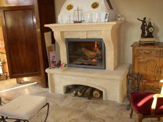 cheminée modèle COLIAS a foyer fermé