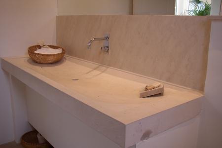 Salle de bain en marbre