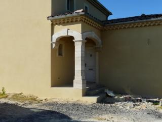 Réseau d'arches sur pilier
